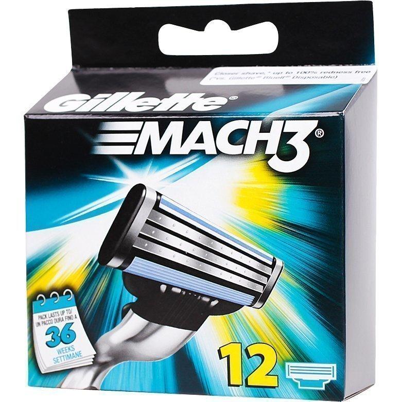 Gillette Mach 3 12 Pack