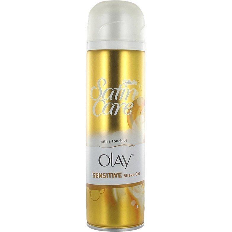 Gillette Satin Care Shave Gel Olay Sensitive 200ml