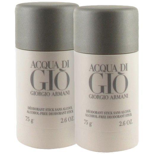 Giorgio Armani Acqua Di Gio Homme Duo 2 x Deostick 75ml