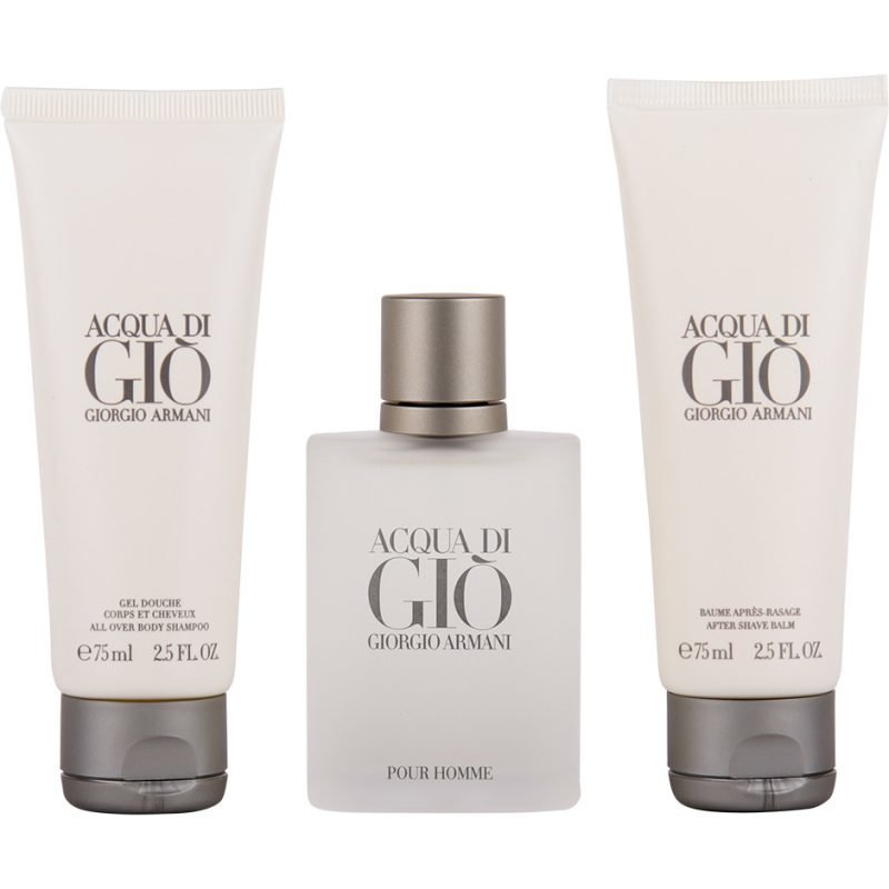 Giorgio Armani Acqua Di Gio Homme EdT 50ml Shower Gel 75ml After Shave Balm 75ml
