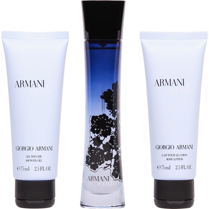 Giorgio Armani Armani Code Women EdP 50ml Shower Gel 75ml Body Lotion 75ml