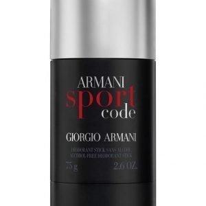 Giorgio Armani Code Sport Deo Stick Deodorantti 75 g