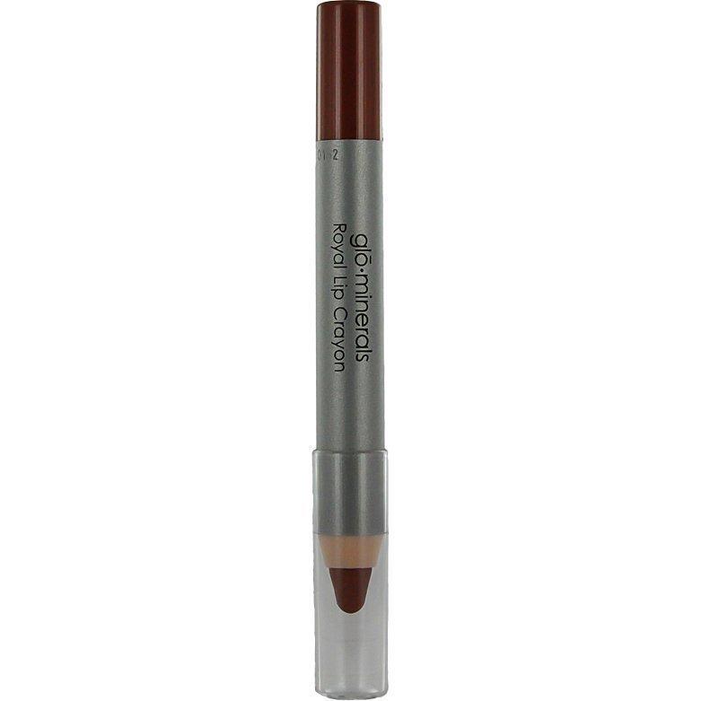 Glominerals gloRoyal Lip Crayon Majestic Sienna 2