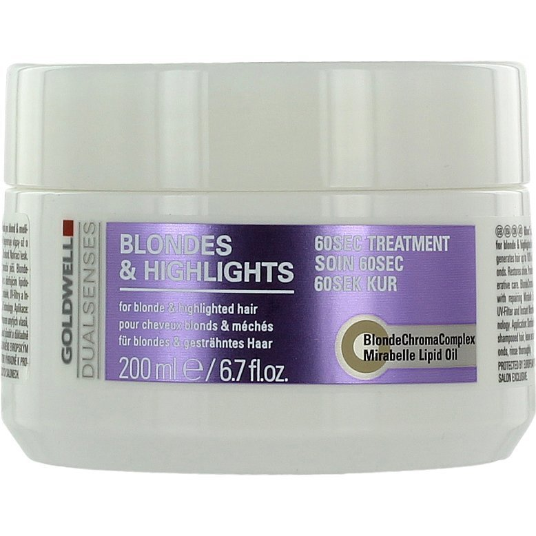 Goldwell Blondes & Highlights 60 Sec Treatment 200ml