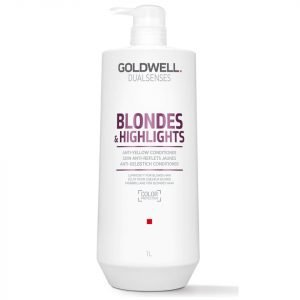 Goldwell Dualsenses Blonde And Highlights Anti-Yellow Conditioner 1000 Ml