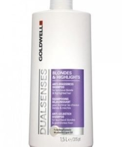 Goldwell Dualsenses Blondes And Highlights Anti-Brass Shampoo 1500 ml