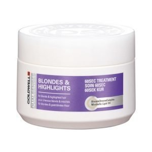 Goldwell Dualsenses Color Blondes & Highlights 60 Sec Treatment Intensiivihoito 200 ml