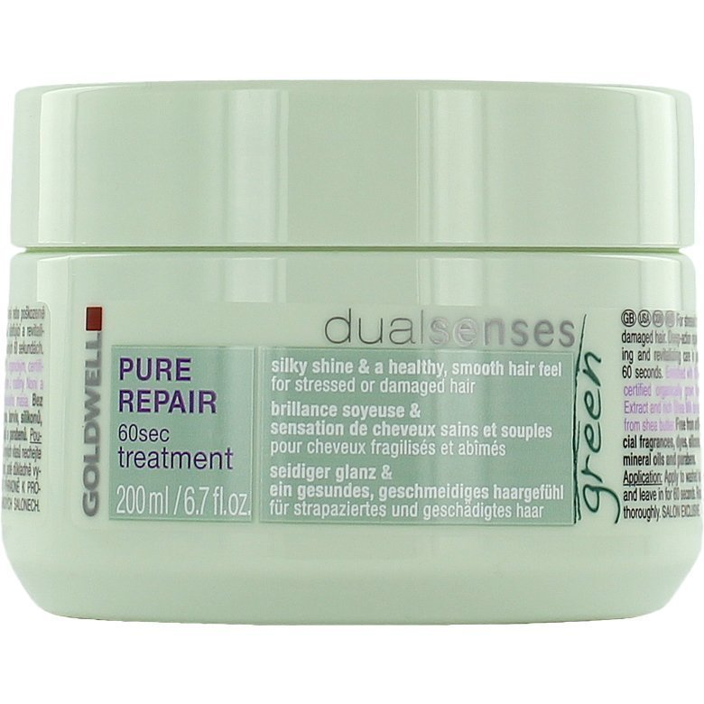 Goldwell Dualsenses Green Pure Repair 60 Second Treatment 200ml