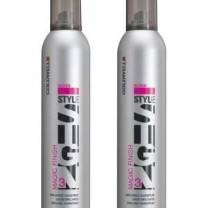 Goldwell Stylesign Magic Finish Hairspray Doublepack Hiuskiinne 2 X 300 ml