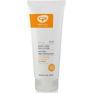 Green People Scent Free Sun Lotion Spf30 200 Ml