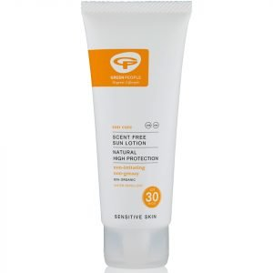 Green People Scent Free Sun Lotion Spf30 Travel Size 100 Ml