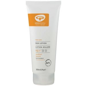 Green People Sun Lotion Spf15 With Tan Accelerator 200 Ml