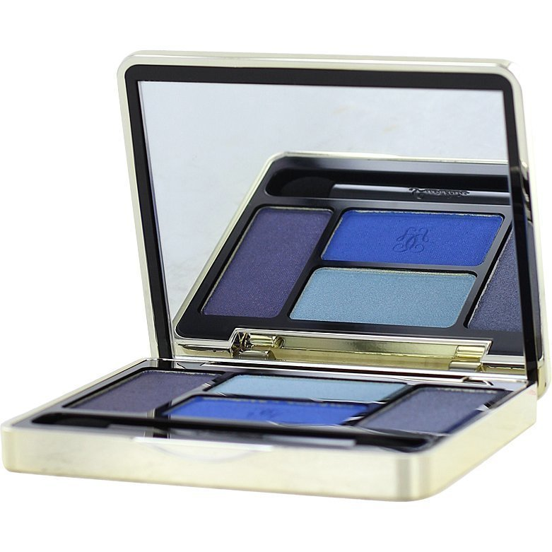 Guerlain Ecrin 4 Couleurs Eyeshadow N°02 Les Bleus 7