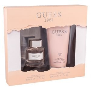 Guess 1981 Edt Lahjapakkaus Naiselle 50 Ml