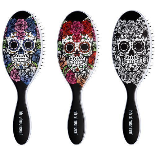HH Simonsen The Wet Brush Sugar Skull Sinimusta