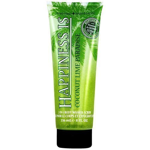 Happiness Is 2-in-1 Body Wash & Scrub Coconut Lime Paradise
