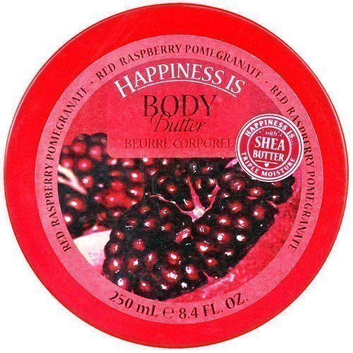 Happiness Is Body Butter Red Raspberry Pomegranate