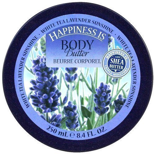 Happiness Is Body Butter White Tea Lavender Sunshine