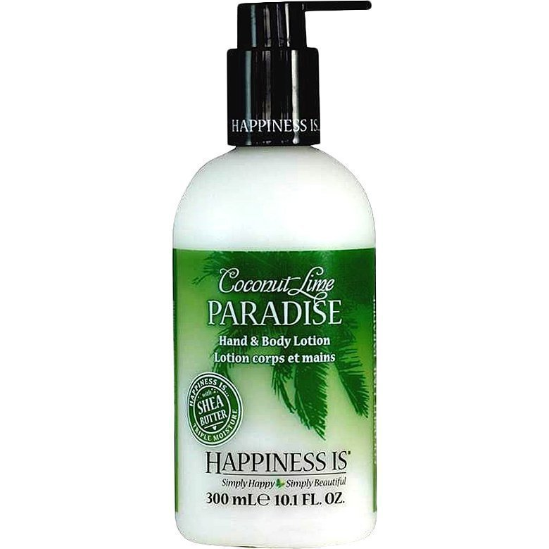 Happiness Is Coconut Lime Paradise Hand & Body Lotion 300ml