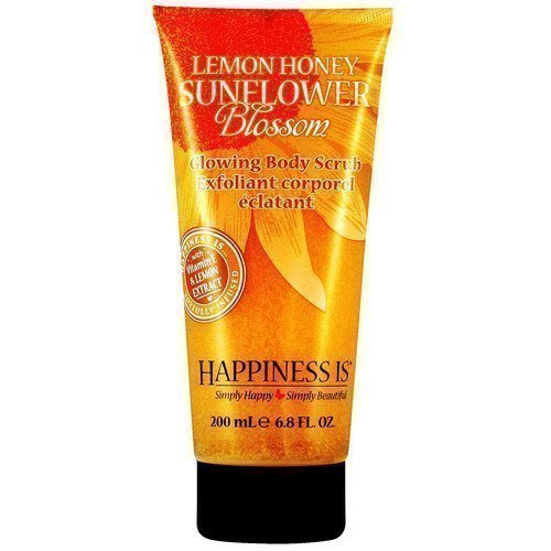 Happiness Is Glowing Body Scrub Lemon Honey Sunflower Blossom