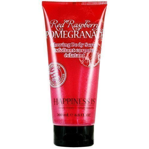 Happiness Is Glowing Body Scrub Red Raspberry Pomegranate