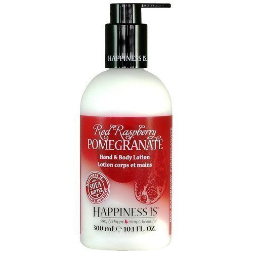 Happiness Is Hand & Body Lotion Red Raspberry Pomegranate
