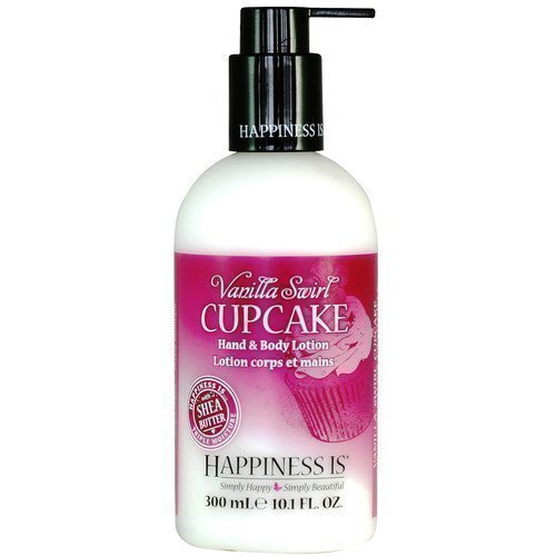 Happiness Is Hand & Body Lotion Vanilla Swirl Cupcake
