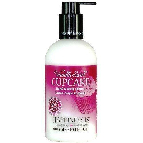 Happiness Is Hand & Body Lotion Vanilla Swirl Cupcake