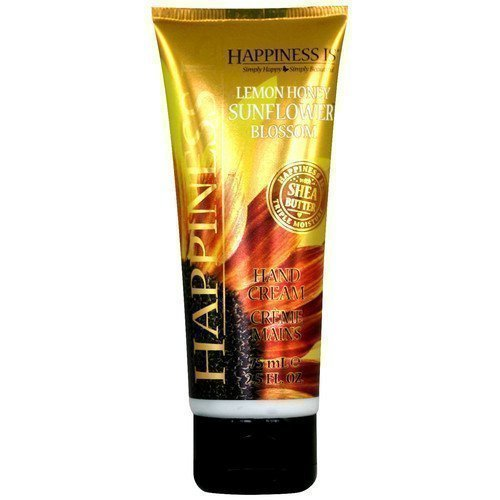 Happiness Is Hand Cream Lemon Honey Sunflower Blossom