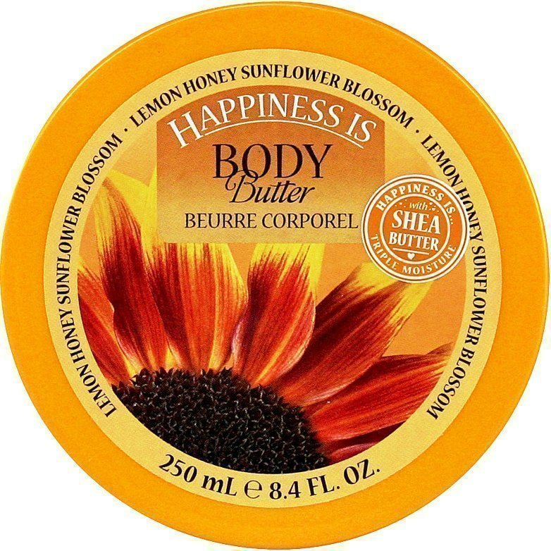 Happiness Is Lemon Honey Sunflower Blossom Body Butter 250ml
