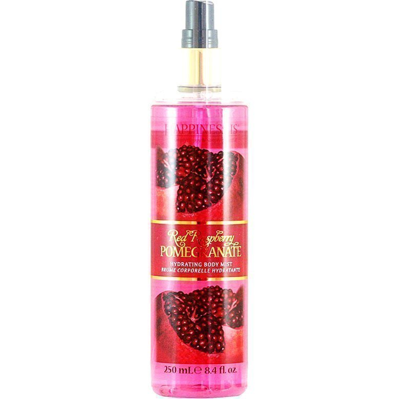 Happiness Is Red Raspberry Pomegranate Hydrating Body Mist 250ml