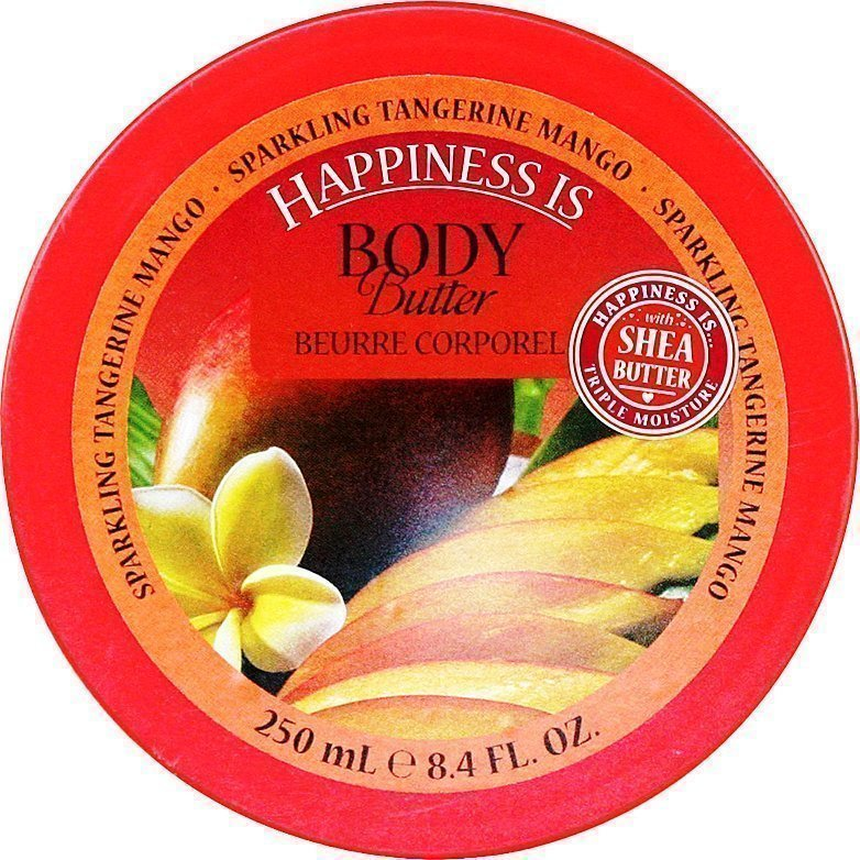 Happiness Is Sparkling Tangerine Mango Body Butter 250ml
