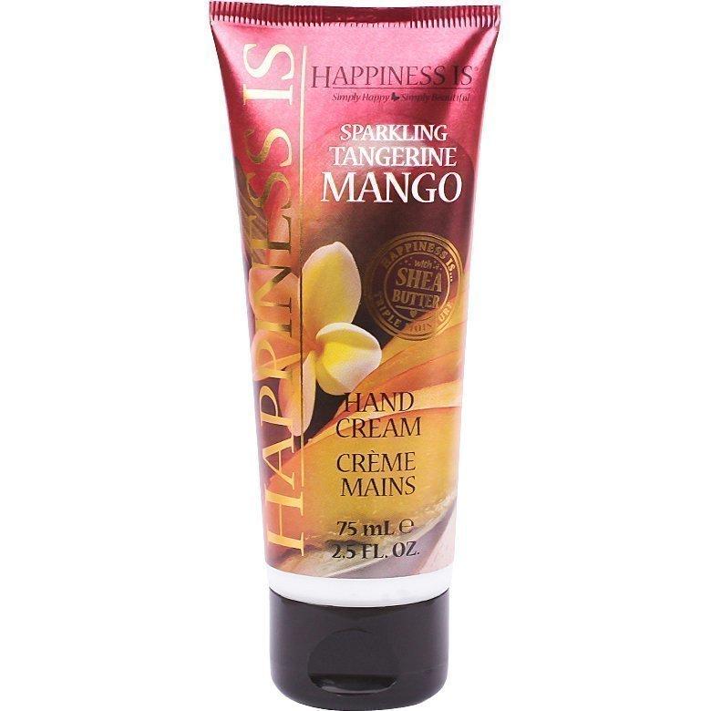 Happiness Is Sparkling Tangerine Mango Hand Cream 75ml
