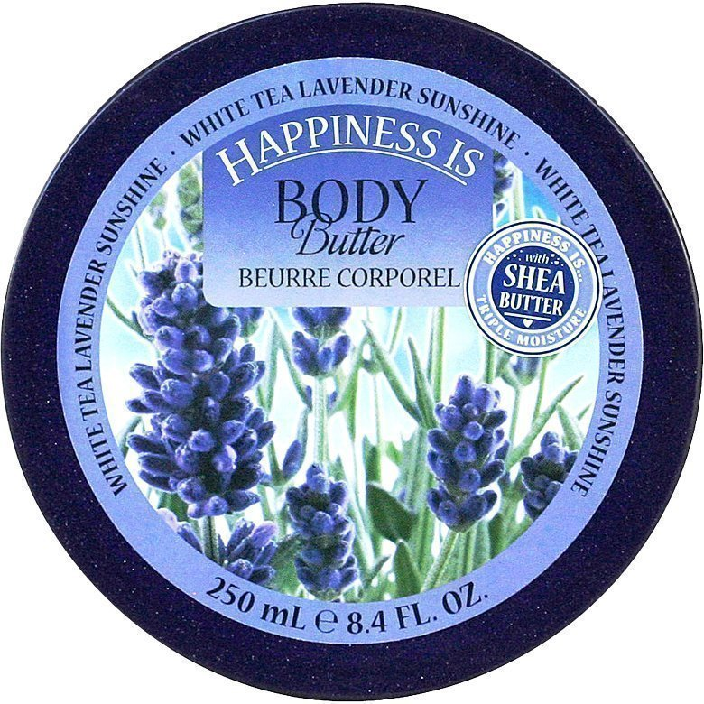 Happiness Is White Tea Lavender Sunshine Body Butter 250ml