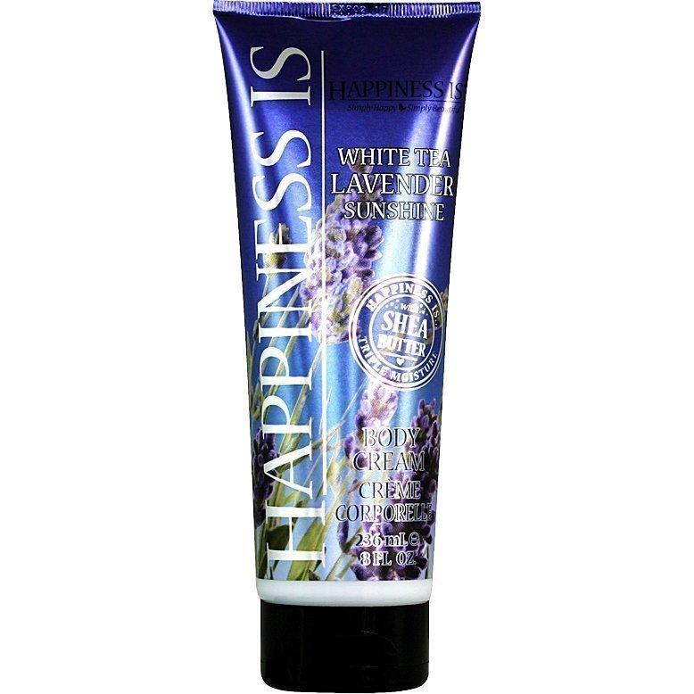 Happiness Is White Tea Lavender Sunshine Body Cream 236ml