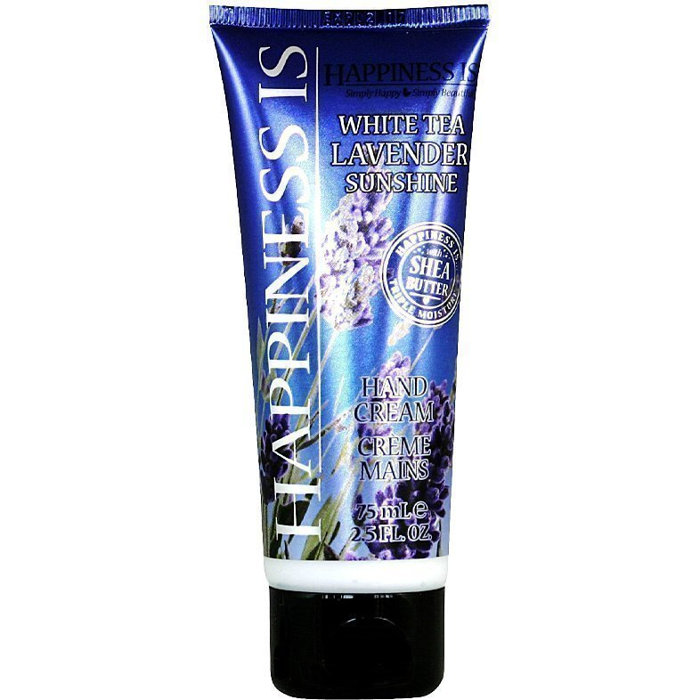 Happiness Is White Tea Lavender Sunshine Hand Cream 75ml