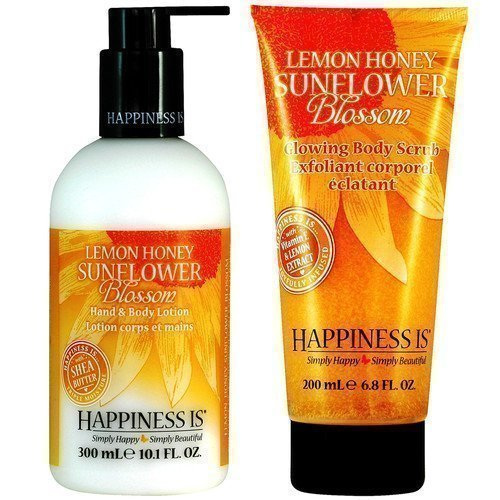 Happiness Lemon Honey Sunflower Blossom Duo