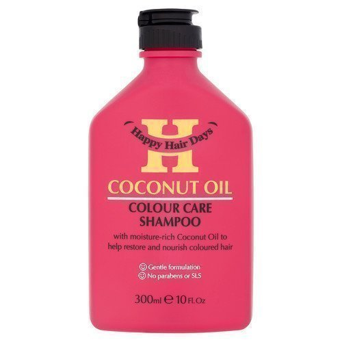 Happy Hair Days Coconut Oil Colour Care Shampoo