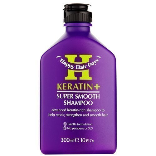 Happy Hair Days Keratin+ Super Smooth Shampoo
