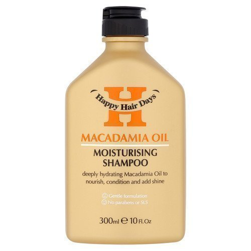 Happy Hair Days Macadamia Oil Moisturising Shampoo