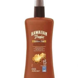 Hawaiian Tropic Hawaiian T Golden Tint Spr Lot SF15