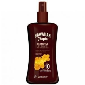 Hawaiian Tropic Protect. Dry Spray Oil Spf 10 Aurinkovoide