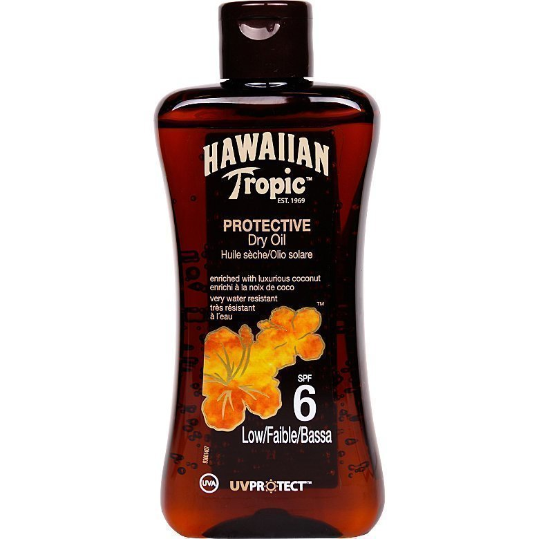 Hawaiian Tropic Protective Dry Oil SPF6 200ml