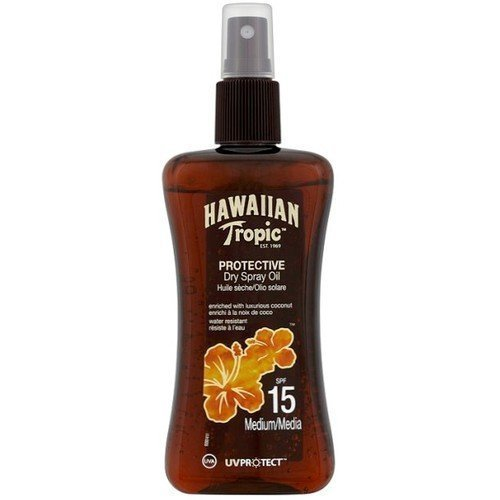 Hawaiian Tropic Protective Dry Spray Oil SPF 15