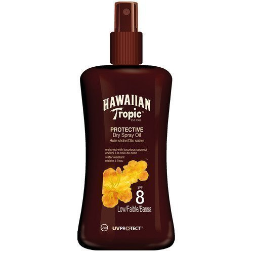 Hawaiian Tropic Protective Dry Spray Oil SPF 8