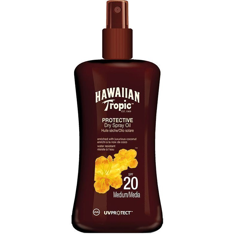 Hawaiian Tropic Protective Dry Spray Oil SPF20 200ml