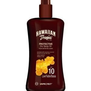 Hawaiian Tropic Protective Spray Oil SPF 10