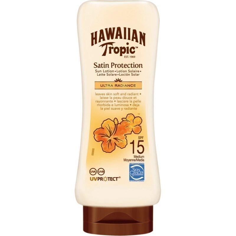 Hawaiian Tropic Satin Protection Sun Lotion SPF15 180ml