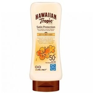 Hawaiian Tropic Satin Protection Sun Lotion Spf 50 180 Ml Aurinkovoide