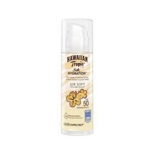 Hawaiian Tropic Silk H Air Soft Pump Sun Lotion SPF 50 150 ml